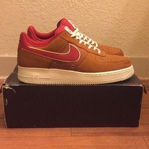 wholesale dealer 94a7d d214d Nike Shoes - Nike Air Force 1 Basketball Leather Shoes Men s